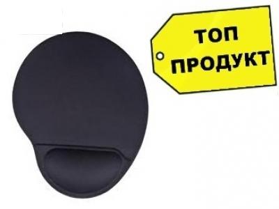 ПОДЛОЖКА ЗА МИШКА ACME WRIST MOUSE PAD - BLACK
