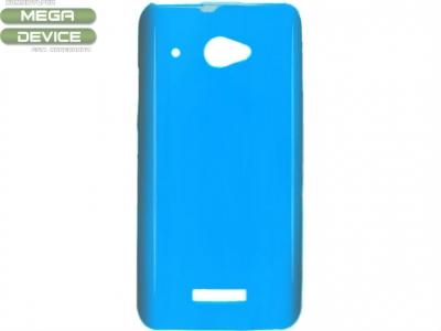 СИЛИКОНОВ ПРОТЕКТОР ЗА HTC X920D BUTTERFLY - BLUE