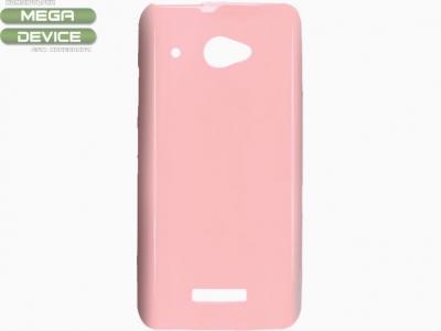 СИЛИКОНОВ ПРОТЕКТОР ЗА HTC X920D BUTTERFLY - PINK
