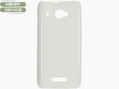 СИЛИКОНОВ ПРОТЕКТОР ЗА HTC X920D BUTTERFLY - WHITE