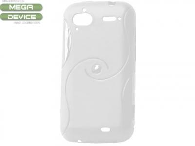 СИЛИКОНОВ ПРОТЕКТОР ЗА HTC SENSATION 4G G14 XE - WHITE