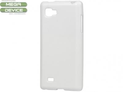 СИЛИКОНОВ ПРОТЕКТОР ЗА LG P880 OPTIMUS 4 X HD - WHITE