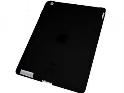 СИЛИКОНОВ ПРОТЕКТОР МАТ ЗА iPad 2 - BLACK
