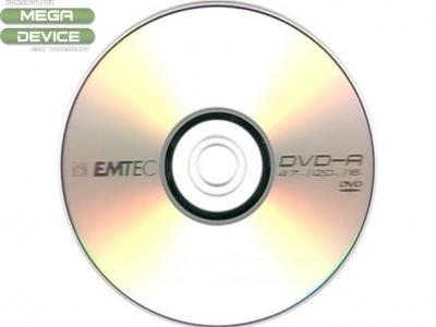 DVD-R EM-TEC 4,7GB / 1 бр.