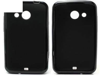 СИЛИКОНОВ ПРОТЕКТОР ЗА HTC DESIRE 200 - BLACK