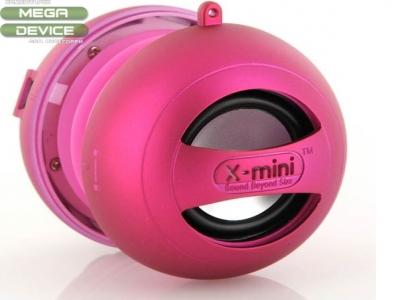 ПОРТАТИВНА КОЛОНКА КАПСУЛА X-Mini II Capsule Speaker - PINK