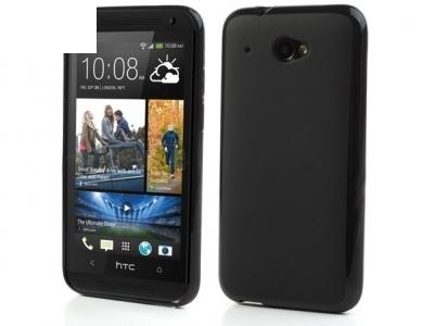 СИЛИКОНОВ ПРОТЕКТОР ЗA HTC DESIRE 601 ZARA - BLACK