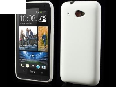 СИЛИКОНОВ ПРОТЕКТОР ЗA HTC DESIRE 601 ZARA - WHITE